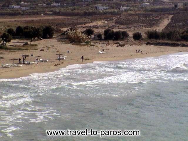 PARASPOROS BEACH - Parasporos beach is very close to Parikia.