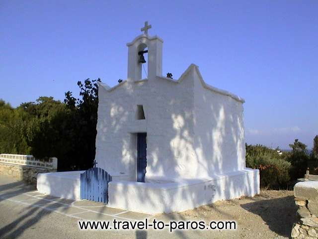 PAROS CHURCH - During your walk to Parikia, you'll see a lot of small churches.