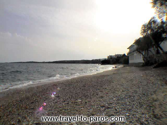 DRIOS - The beautiful beach of Drios village.