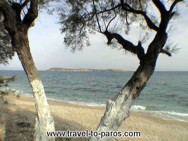 Clean waters and golden sands are the main characterize of Drios beach. PAROS PHOTO GALLERY - DRIOS