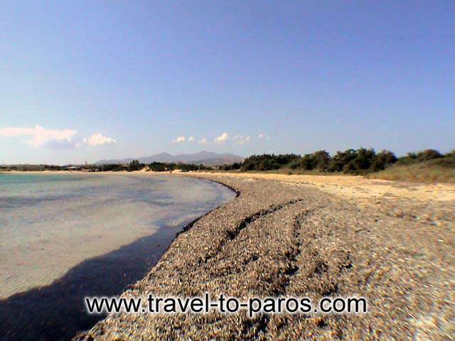 SANTA MARIA BEACH - Santa Maria is a quiet beach which found in distance 2 km away from Naoussa.