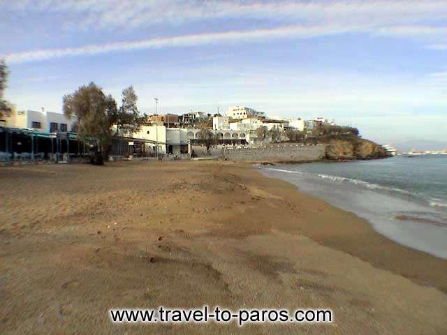 LOGARAS - The beach of Logaras.