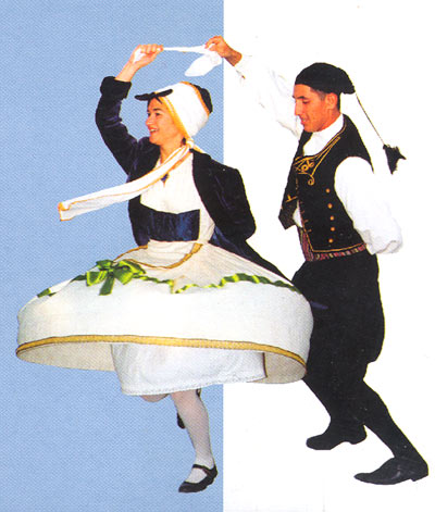 TRADITIONAL DANCING - The talented members of the music - dance group give musics performances.