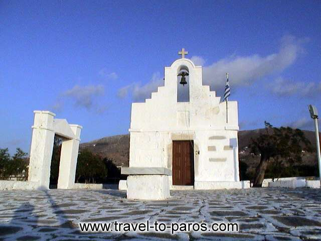 White and blue. The colours that characterize the islands of Cyclades. PAROS PHOTO GALLERY - PARIKIA PAROS