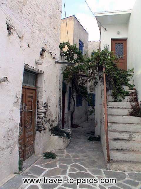 PARIKIA PAROS - A traditional Cycladic house.