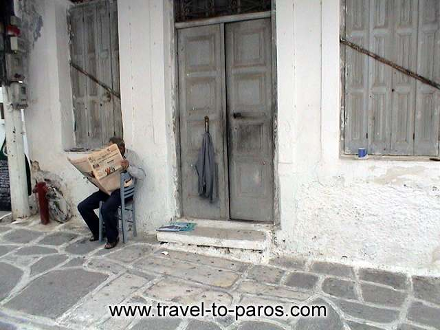 PARIKIA PAROS - What's news? Relax and enjoy your life.
