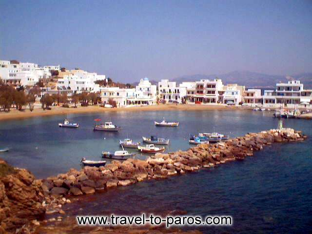 PISO LIVADI - The seaside village Piso Livadi has built around a small fishing harbour.
