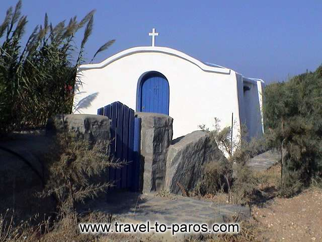 SANTA MARIA CHURCH - The little church is dedicated in Panagia and is found close to the beach of Santa Maria.