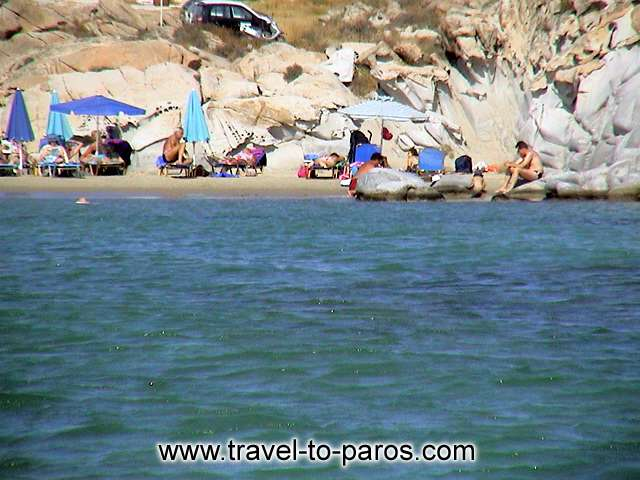 KOLIBITHRES BEACH - During your holidays at Paros you have to visit Kolibithres and to swimm in to the crystal waters of the beach.