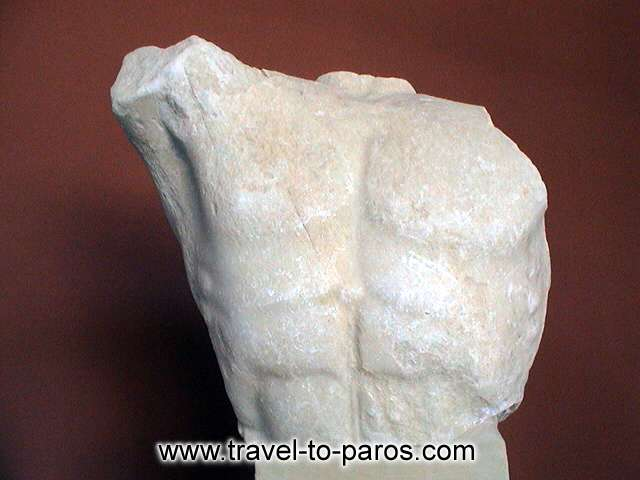 ARCHAEOLOGICAL MUSEUM OF PAROS - The visitor of the archaeological museum will see a lot of interesting discoveries.