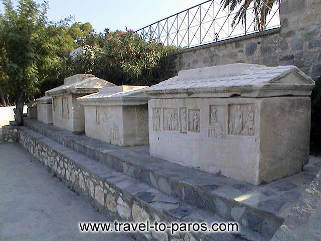 ARCHAEOLOGICAL MUSEUM OF PAROS - the discoveries of excavations reveal aspects of the important history of the island.