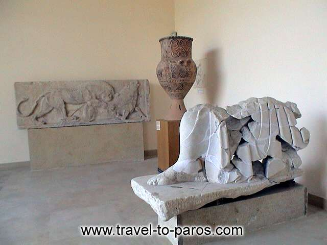 ARCHAEOLOGICAL MUSEUM OF PAROS - Unrepeatable creations of the ancient Cycladic civilization.
