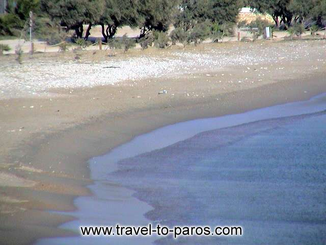 ALIKI BEACH - Alyki beach is very popular to the visitors of Paros. It is found in distance of 13 km from Parikia.