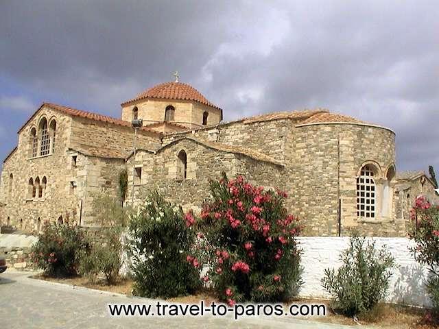 EKATONTAPYLIANI CHURCH - The church of Ekatontapyliani is one of the most important paleochristian monuments in Greece.