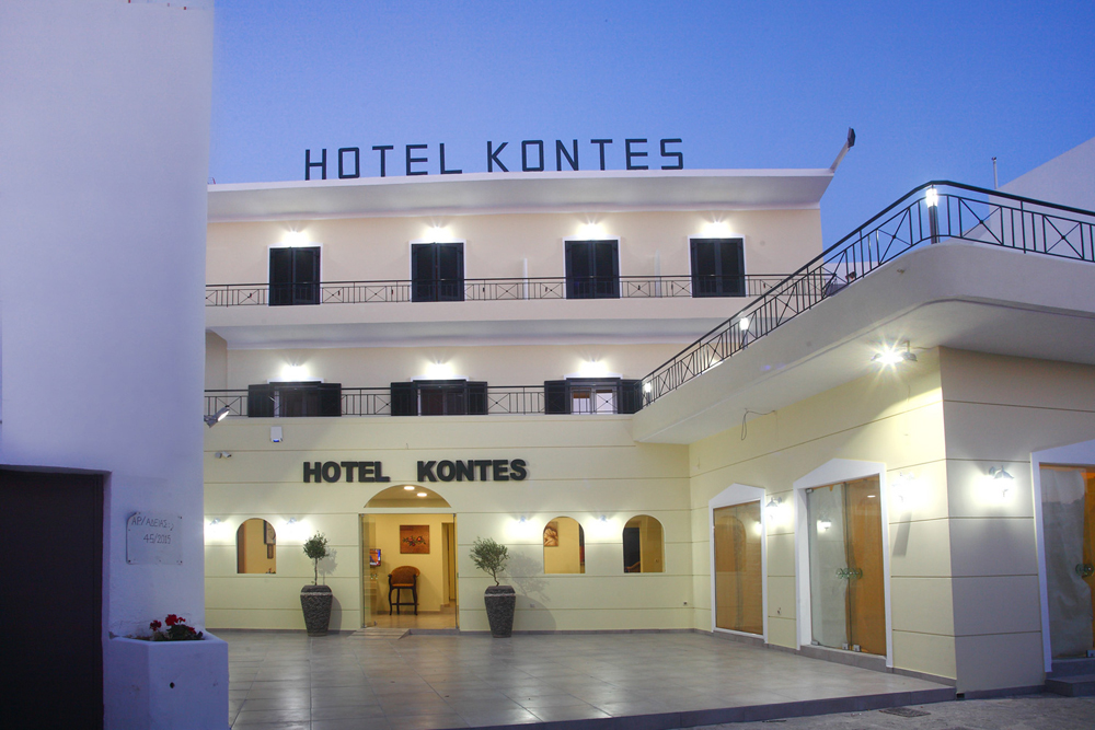KONTES HOTEL IN  Parikia