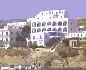 HOTEL CORALI IN  Piso Livadi