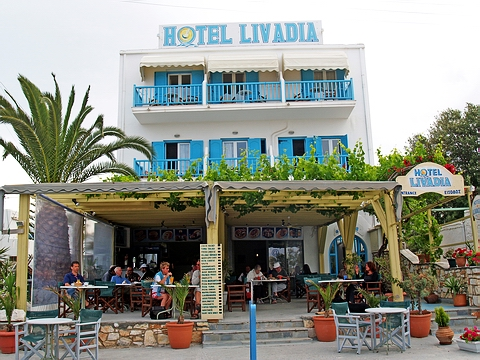 HOTEL LIVADIA IN  Parikia