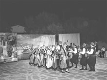 Youngsters on the Cycladic island of Paros have hundreds of bars and cafeterias to frequent and wile away their summer holidays but many have decided to take up traditional folk dancing instead. <br><br>