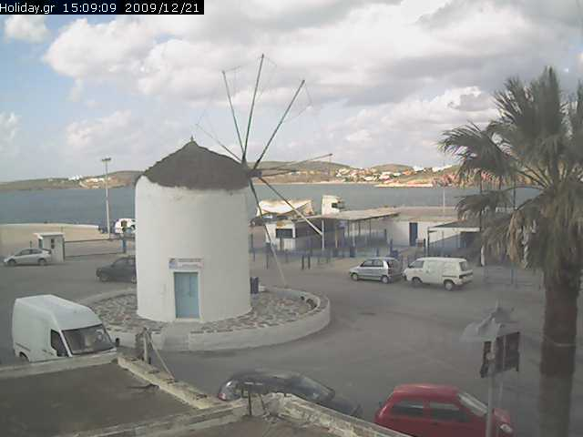 Current live view of Chora Sfakion, Crete, Greece