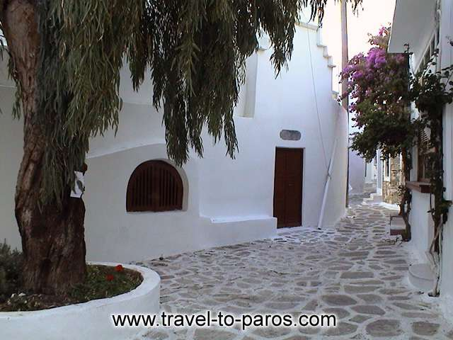 NAOUSSA PAROS - A walk in the traditional neighborhoods of Naoussa will fill you with unique pictures.