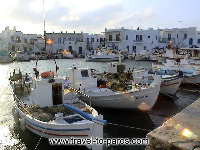 NAOUSSA PORT - Naoussa has one of the more picturesque harbours of the Aegean Sea islands.